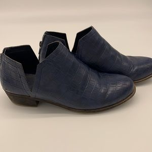 Sugar Tessa Navy ankle boot